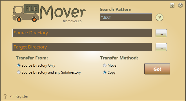 FileMover Screen shot