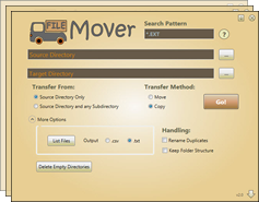 Filemover screenshots